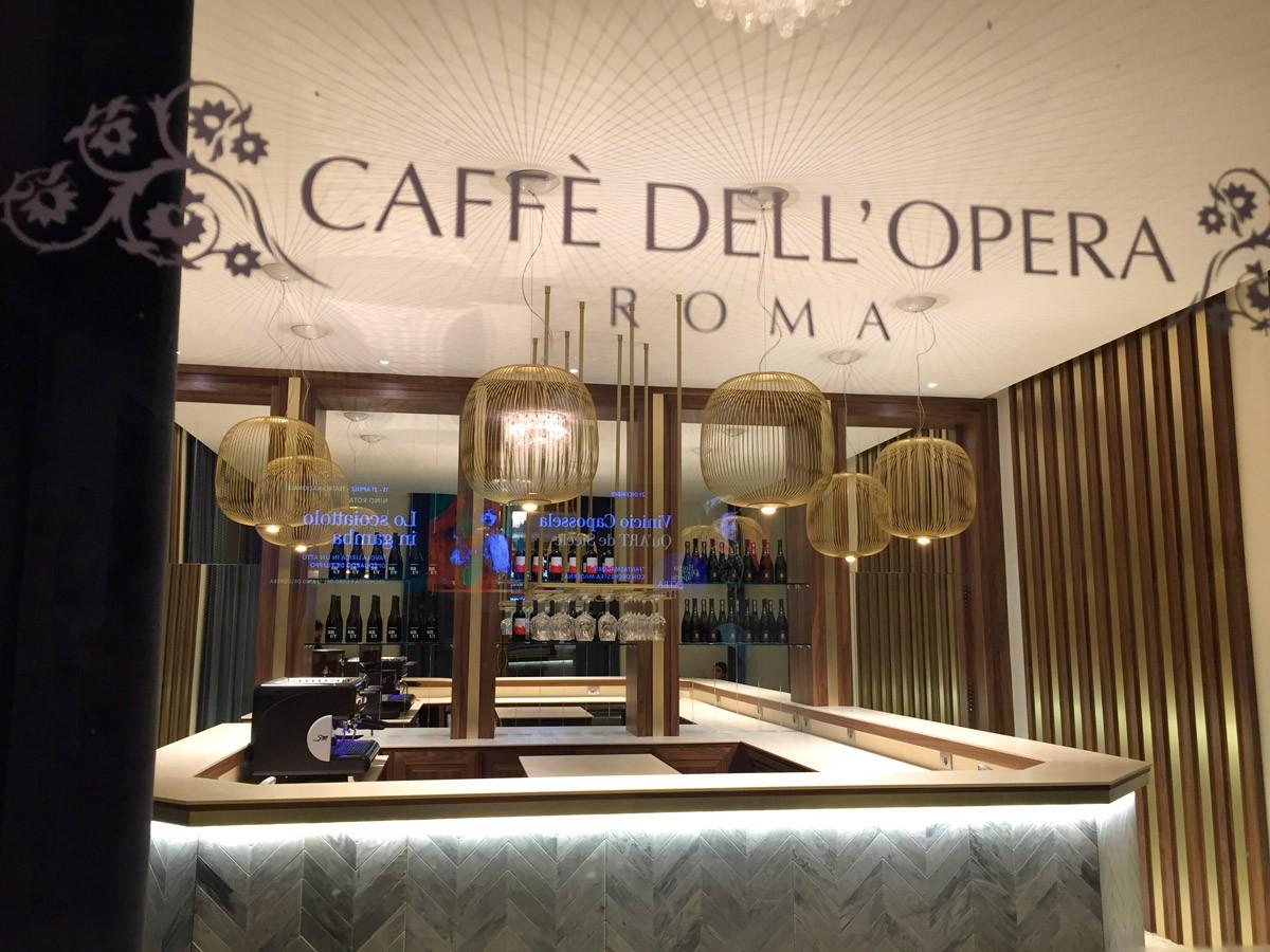 Caff dell 39 opera roma salefino for Opera arredamenti